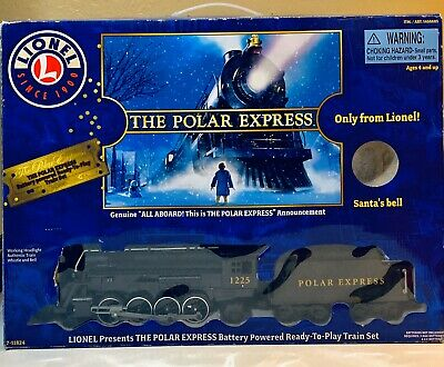 Lionel Collectible Train Set The Polar Express Christmas Box Included (No Bell)