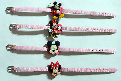 JOB LOT SHOE CHARM BRACELETS (E1) - inspired by CUTE MICE (4A MM) (pack of 4)