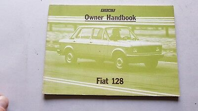 Fiat 128 modelli 1979 Manuale Uso Manutenzione GENUINE MANUAL ENGLISH TEXT