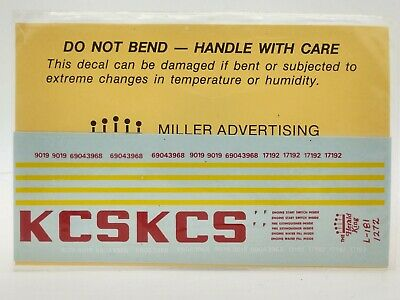 HERALD KING Decals Southern Pacific Diesel Switcher 1977  Decals New