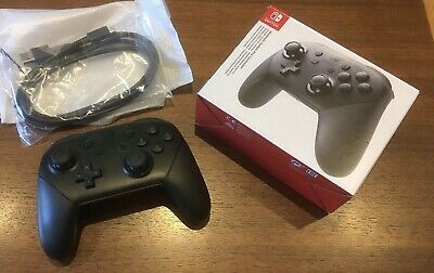 Genuine Official Nintendo Switch Wireless Black Pro Controller