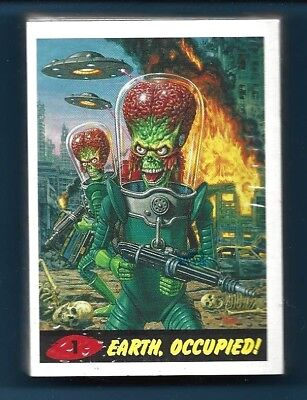 2015 Topps Mars Attacks Occupation  Complete Parallel Heritage Set Of 45 Cards