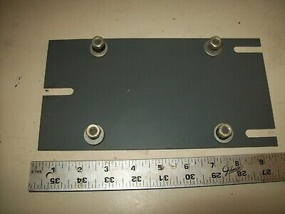 Steel Motor Mounting Plate From Delta Rockwell Variable Speed Wood Lathe #46-450