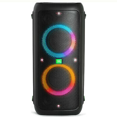 JBL Partybox 300 Portable Bluetooth Speaker with Light Display, Mic, Phono Input