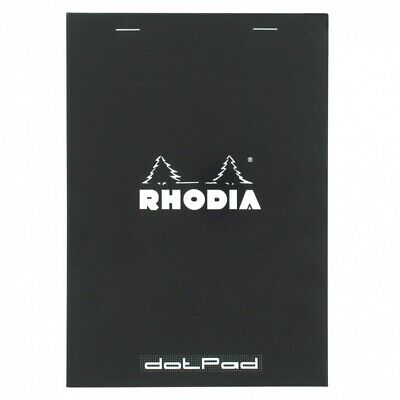 "Rhodia (16559) 6"" x 8 1/4"" Dot Pad N° 16 w/Black Cover"