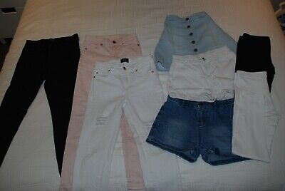 Girls Jeans, Shorts, Skirt, Leggings. Bardot Junior. Size 9.