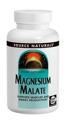 Source Naturals - Magnesium Malate, 1250mg X 90 Tabletten