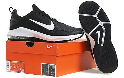 Nike Air Max Alpha Trainer Men's Black White AA7060 001 Running Shoes AA7060