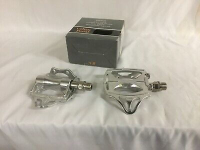 MKS Classic Urban Platform Pedals Sealed Bearing Road City Bike Black Silver