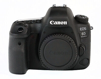 Canon EOS 6D Mark II 26.2 MP Digital SLR Camera Body