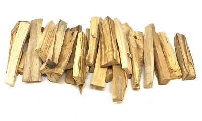 25 x PALO SANTO Holy Clearing INCENSE sticks ORGANIC & WILD HARVESTED
