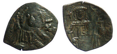 Latin rulers of Constantinople AE Trachy Hendy Type D