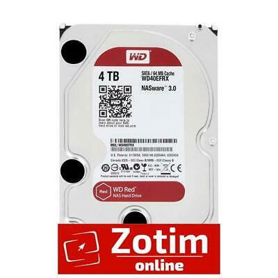 "WD 4TB, WD40EFRX, Red 3.5"", Intellipower DDR2 Nas HDD, 5400 RPM"