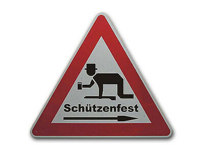 Triangular Traffic Sign with the Motif One Drunken and Personalized S2402