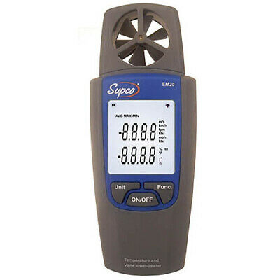 Supco EM20 Thermo Anemometer - Diagnose HVAC Air Flow Problems