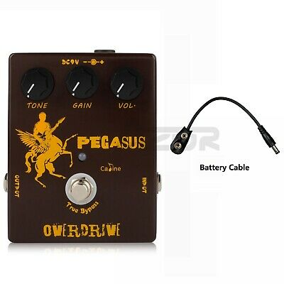 Caline CP-43 Pegasus Overdrive Guitar Effect Pedal Guitar Pedal with True Bypass