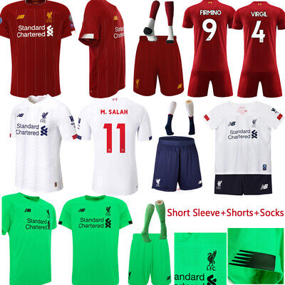 19-20 Liverpool Soccer Suits Football Kits Jerseys Shorts Socks For Kids Adults