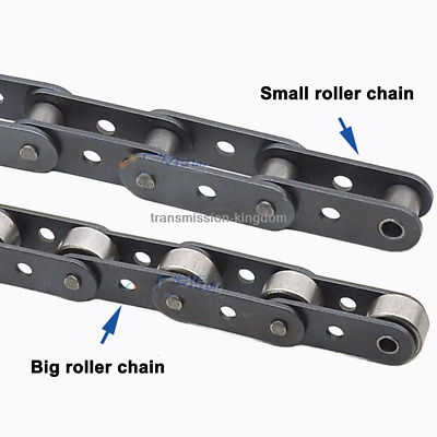 Straight Roller Chain Double Pitch Chain Carbon Steel C2040 C2042 C2050 C2060