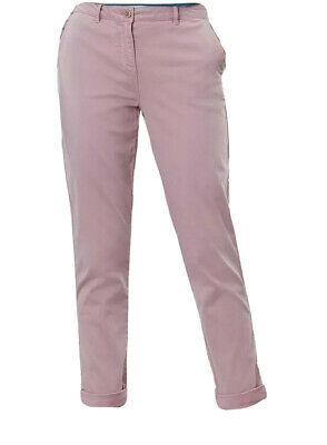 Joules Womens Hesford Chinos PINK Trousers Size UK 10