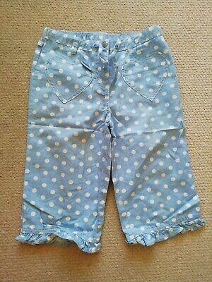 Girls Cropped Spotty MINI Boden Trousers age 9-10 Years