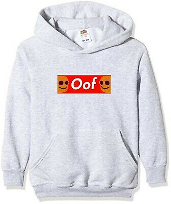 NEW KIDS ROBLOX OOF HOODIE - ALL COLOURS/SIZES Children Kids Boys Girls