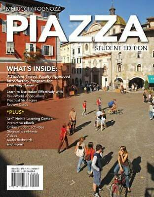 Piazza (with iLrn Heinle Learning Center, 4 terms (24 months) Printed Access Car