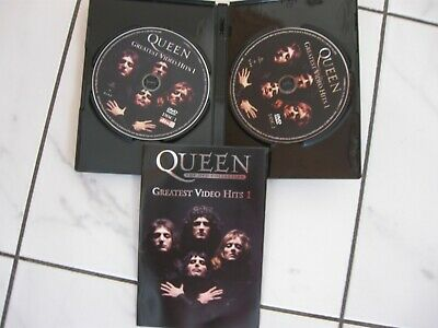 Queen : The DVD Collection (2 DVD Set) Greatest Video Hits 1 Bohemian Rhapsody