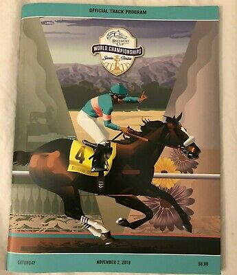 Breeders' Cup 2019 Official Saturday Program - Vino Rosso, Covfefe, Mitole MINT