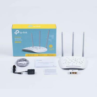 Tp-Link Access Point Repeater Wireless 450Mbps 3 Antenne Esterne Poe Tl-Wa901Nd