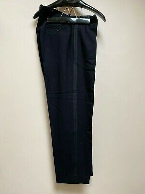 Vintage 1930's bespoke Savile Row white tie evening trousers size 32 34