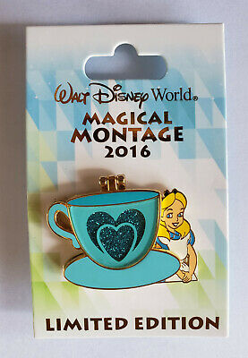 Disney Pin - Alice in Wonderland Magical Montage LE Limited Edition 3000