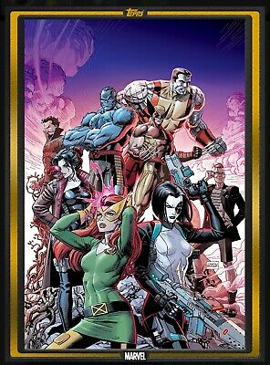 Topps Marvel Collect - Comic Book Day gold X-Force #1 DIGITAL