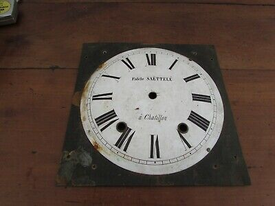 Antique Dial Enamelled for Movement D Clock