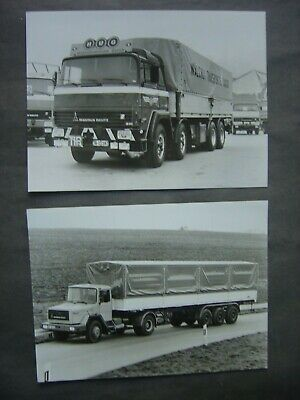Lot 2 Photos 18 x 24 - Camions - trucks - MAGIRUS - DEUTZ