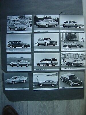 Lot de 12 Photos 13 x 18 - gamme VOLVO 1995