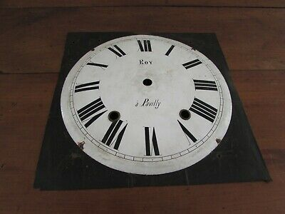 Antique Dial Enamelled for Movement Earrings Clock
