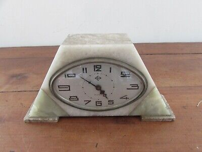 Antique Clock Small Table Clock Dep Art Deco