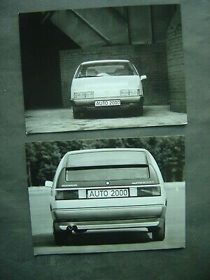 Lot de 2 Photos 18 x 24 - Experimental Volkswagen Auto 2000