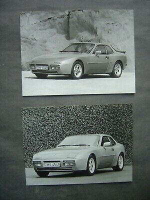 2 Photos 18 x 24 - PORSCHE 944 TURBO
