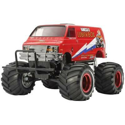 Automodello Tamiya Lunch Box Red Edition Brushed 1:10 Monstertruck Elettri 47402
