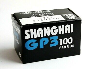 196923 *One Roll* Shanghai GP3 100 IS0 Black-and-White 35mm Film