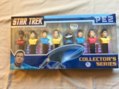 Star Trek TOS Collector's Series Limited Edition PEZ 192528 of 250,000 NEW