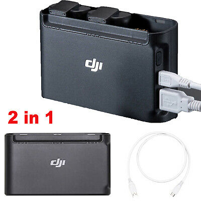 Original For DJI Mavic Mini Drone Two-Way Battery Charger Charging Hub+Cable New
