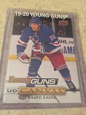 2019-20 19-20 Upper Deck Series 1 Kaapo Kakko Young Guns Canvas Rookie Rc