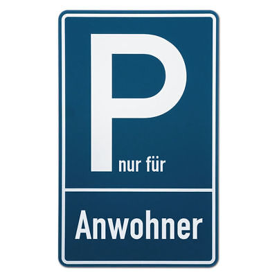 Parking Spot Sign for Anwohnerparkplätze S3491