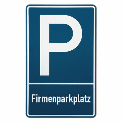 Parking Spot Sign Firmenparkplatz S3496