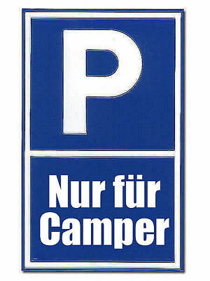 Parking Spot Sign for Camper G5509