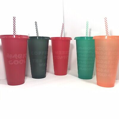 Starbucks Christmas Reusable Venti Cold Cups 2019 Holiday YOU CHOOSE NEW