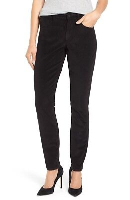 NWT $114 Not Your Daughters Jeans NYDJ Alina Skinny Stretch Corduroy Pants 10P