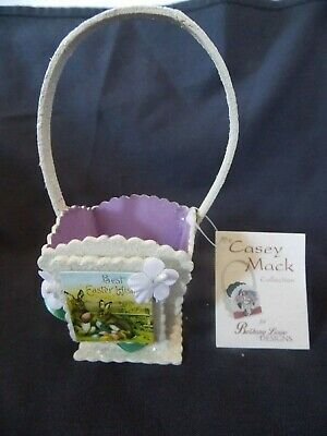 New Casey Mack Collection Small Easter Basket Bethany Lowe Designs